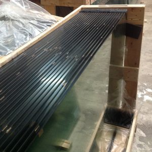 Pre - fabricated toughened glass panels