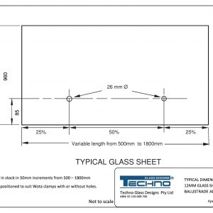 Techno Typical 12mm Glass sheet Balustrade with Spigots-page-001